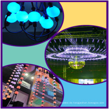 Madrix kompatible LED Vorhang rgb Pixel Ball String