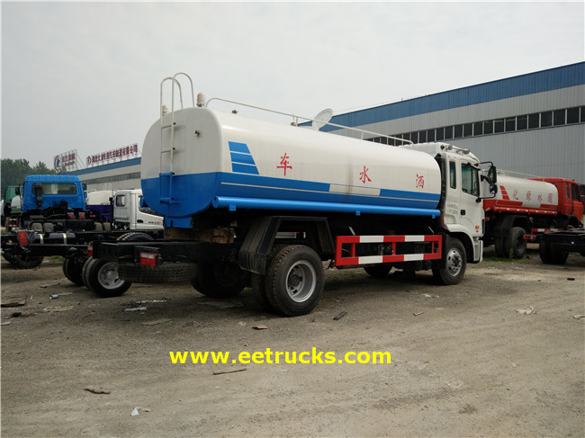 Water Tank Sprinkler Trucks