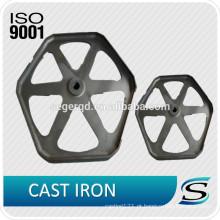 Rodas de ferro fundido certificadas ISO