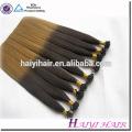 Extensão dobro puxada dobro do cabelo de Remy da queratina 100% de Guangzhou