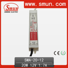 20Вт 6-12В постоянного тока водителя СИД Водоустойчивое Электропитание IP67