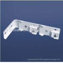 L Shape Double Wall Bracket for Curtain Dual Tracks