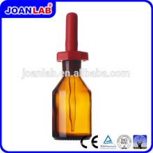 Джоан лабораторной посуды стеклянная бутылка капельницы янтаря падение бутылки Поставщик