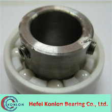 High speed low noise ceramic bearings for fishing reels