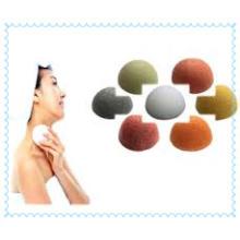 100% fibra de konjac natural, esponja de konjac facial