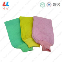 Basic style cleaning bath gloves