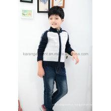 Zip Raglan Sleeve Wool Children Cardigan Sweater Stock