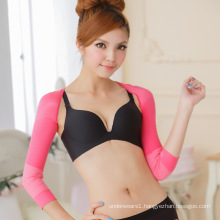 Wholesale high elastic sports shapewear prevent humpback arm compression sleeves