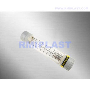 Medidor de flujo de tubo de plástico para tratamiento de agua