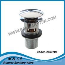 """1""""1/4 Push Button Basin Waste with Overflow (D863708)"""