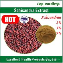 Extrait naturel de Schisandra en poudre avec Schisandrins