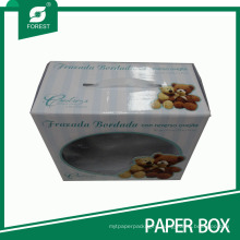 Doll Packaging Box with Display PVC Window and Handle