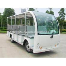 23 Sitzer elektrische Sightseeing Cart Bus Golfwagen zum Verkauf Shuttle-Bus