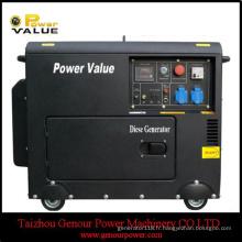 3kVA 5kVA générateur diesel 178f 186f silencieux triphasé avec ATS