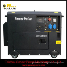 3kVA 5kVA Diesel Generator 178f 186f Silent Three Phase with ATS