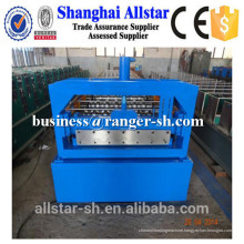 types color steel metal profile roof sheet roll forming machine