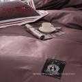 цвет полосатый Роскошный отель постельных принадлежностей 100% хлопок
