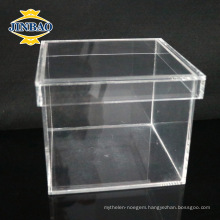 Crystal Acrylic custom Acrylic Plexiglass Display Box for food storage
