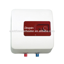 Mini compact plastic tank water heater 15L