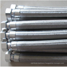 Stainless Steel 304 Braided Hose/Stainless Steel Wire Braid Flexible Plumbing Hose/ Stainless Steel Braided Water Hose