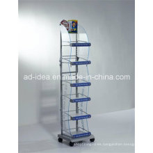Soporte de exhibición de acrílico giratorio de la venta de las capas de la venta caliente / soporte de exposición multiusos
