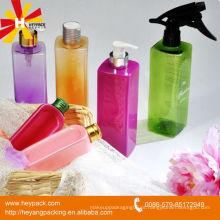 Fornecimento de vários tipos PET plástico quadrado garrafa
