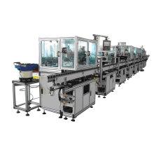 Ligne d'assemblage automatique de machine de fabrication d'armature de moteur