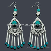 Hand Craft antique silver fashion Beads Earring Vners SE-009