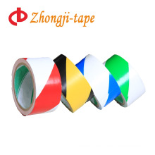 Two-tone stripe adhesive pvc tape