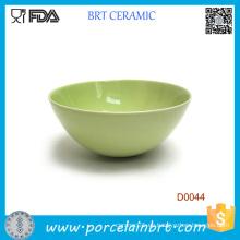 Venta al por mayor Cuenco de cerámica verde renovable