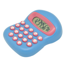 Colorful Mushroom Shape Calculator with Cute Key