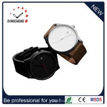 Reloj clásico de acero inoxidable para hombres de negocios