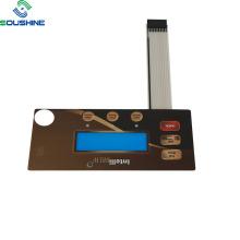 Full color Intelli Brew coffee maker membrane switch