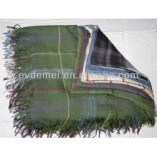 large men's 100% polyester square scarf