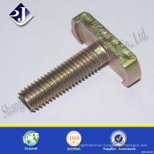 non standard metric thread t head bolt