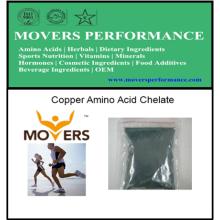 Chelate del aminoácido de cobre de alta calidad de la fuente de la fábrica