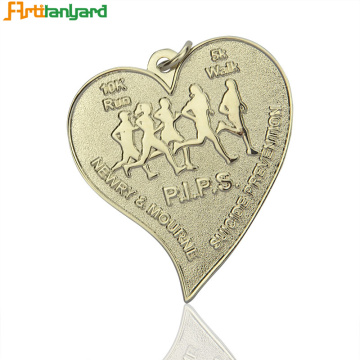 Customized Metal Medal with Customized Ribbon