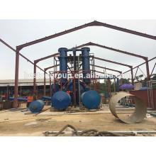 Загрязнения свободно 10 т/д шин Пиролиз нефтяного оборудования бытовых отходов завод по переработке