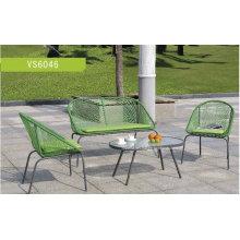 Einfache moderne Wicker Garten Set