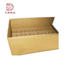 Caja de empaquetado de cartón de vino personalizada superventas más nueva profesional