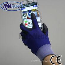 NMSAFETY супер мягкий верх подходят PU смарт телефон с сенсорным экраном перчатки