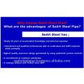 """ERW Steel pipe 1/2"""" - 8"""" API, ASTM, JIS, AS"""