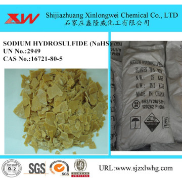 Hydrosulfure de sodium 70% Applications