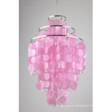 La mejor lámpara colgante de Shell rosa de Seiling moderna (8079-1B)