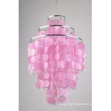 Best Seiling Pink Shell Pendant Lamp Modern (8079-1B)