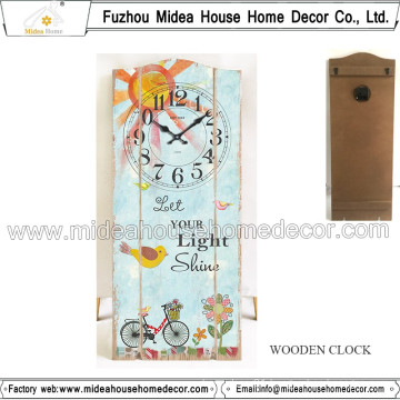 China Factory Custom Antique Clock for Promotion Gift