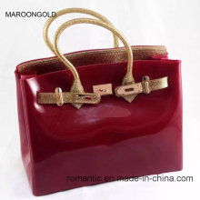 Fashion Lady Jelly Handbags Wholesale Women EVA Bag (J-0401)