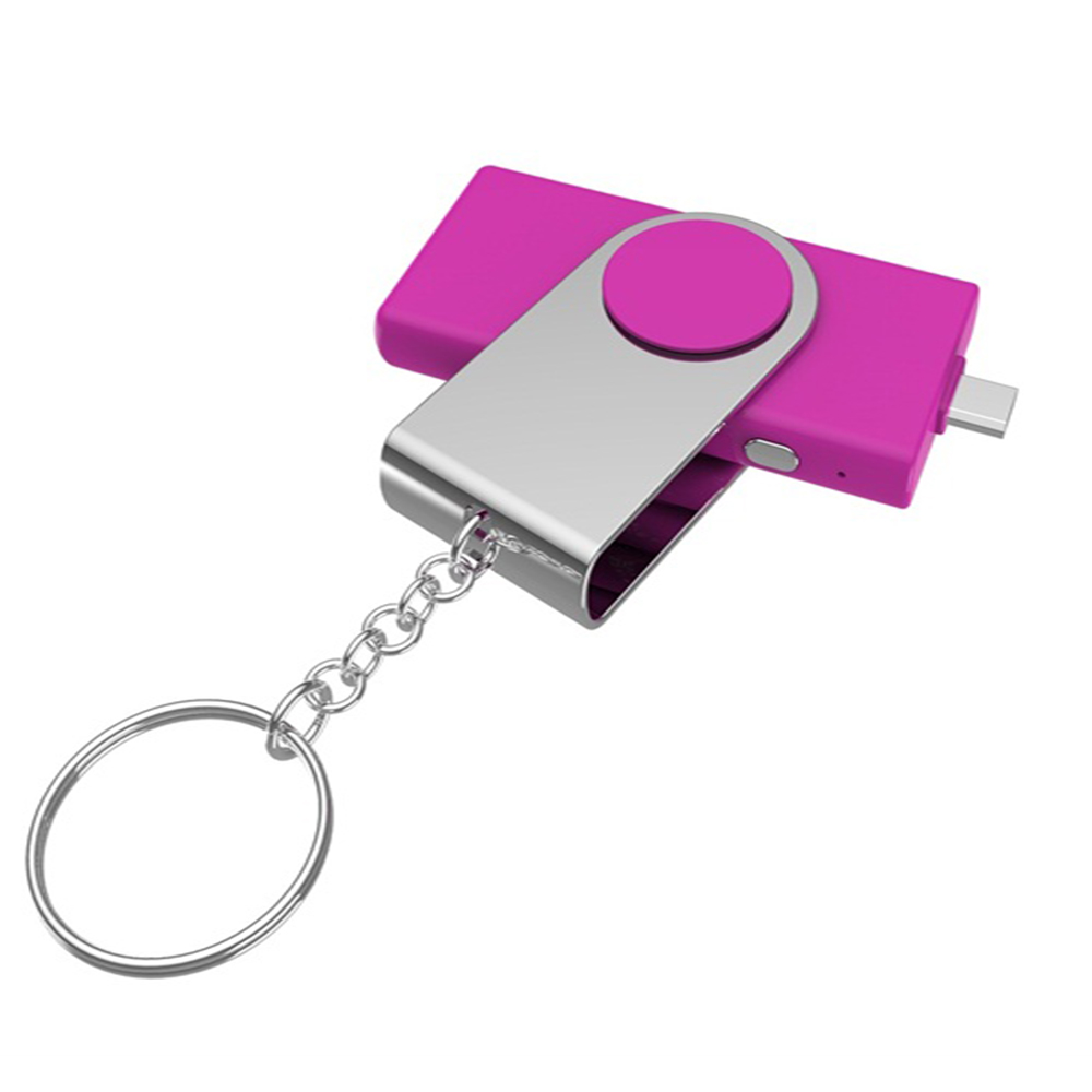 Mini Portable Keychain 800mah Emergency Usb Power Bank