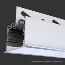 flush mounted Linear Light Aluminium Extrusion Channel