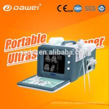 Portátil Sonography Machine Price Medical para DW-3101A Ecocardiografía 2D equipo de ultrasonido china última versión USG